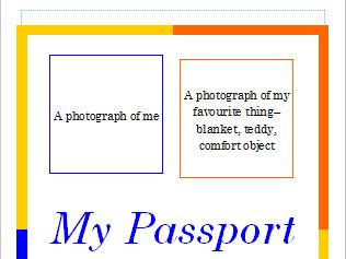 Personal Passport To School