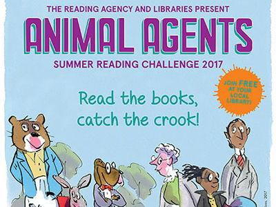 Summer Reading Challenge 2017, Animal Agents