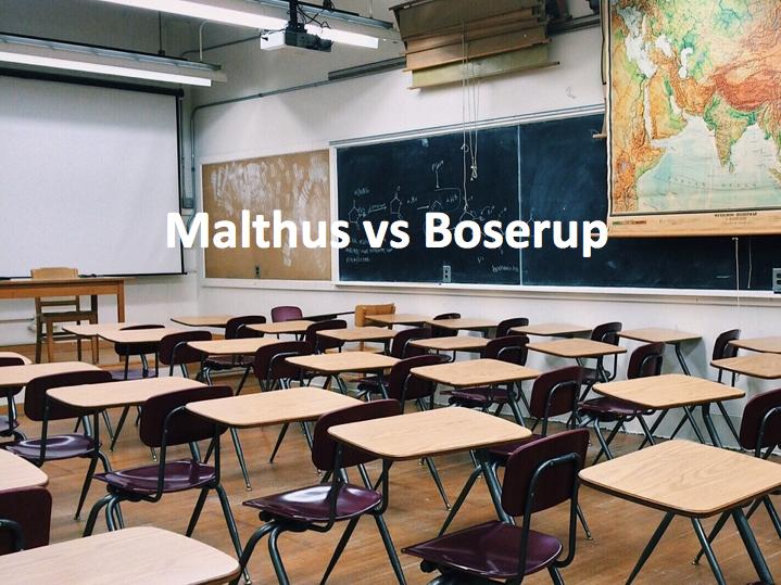 Malthus vs Boserup
