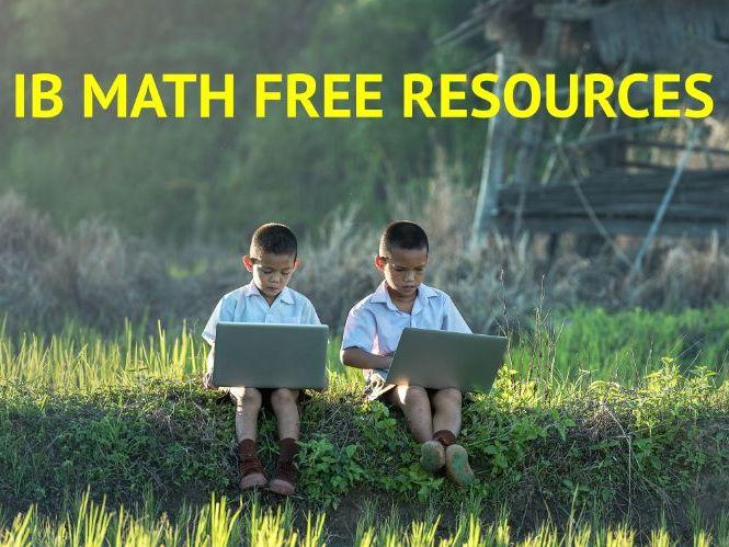 IB Math SL Revision Mock Paper Set 1-P1