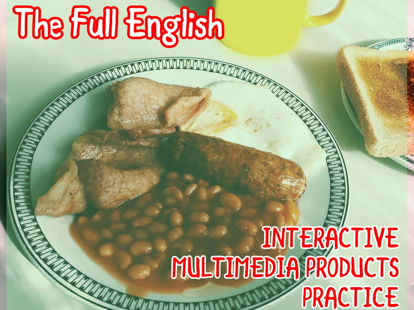 Interactive Multimedia Products Practice - Full English Bundle - Great for Creative iMedia R087 Practice