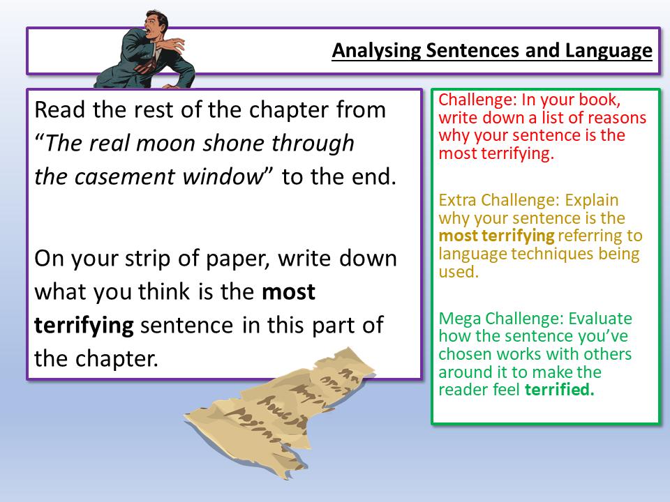 Eduqas English Language Sentences