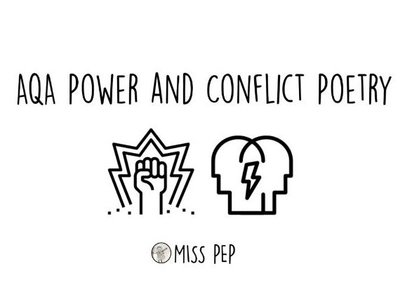 AQA GCSE Power and Conflict Poetry booklet