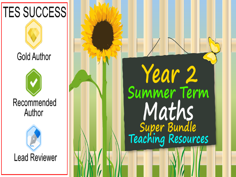 Year 2 Summer Maths Bundle