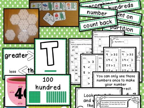 Interactive Place Value Displays & Challenge Table Activities Year 2 Number