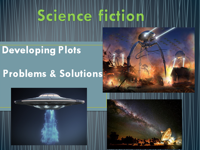 Developing plots, problems and solutions in a Science Fiction story.  'The War Of The Worlds'