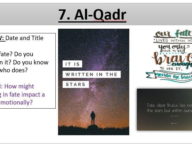 Al-Qadr Predestination - Muslim Beliefs