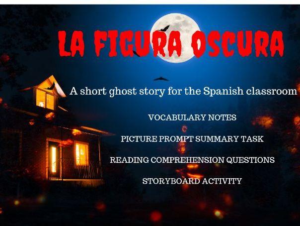 Spanish Halloween Story & Activities