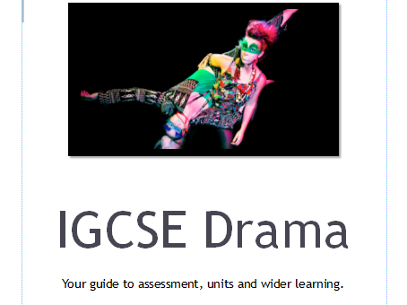 Guide to Cambridge IGCSE Drama