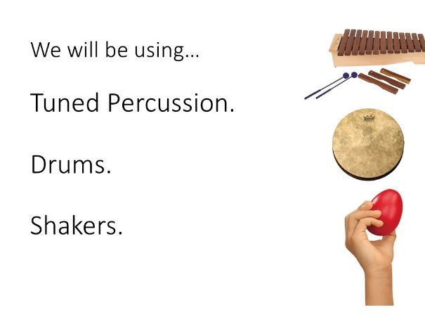 3 part Tuned and Hand Percussion performance exercise/project