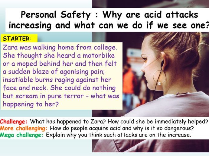 Acid Attacks PSHE