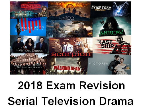 Serial Television Drama Revision Guide for 2018 GCSE Media Studies Exam!