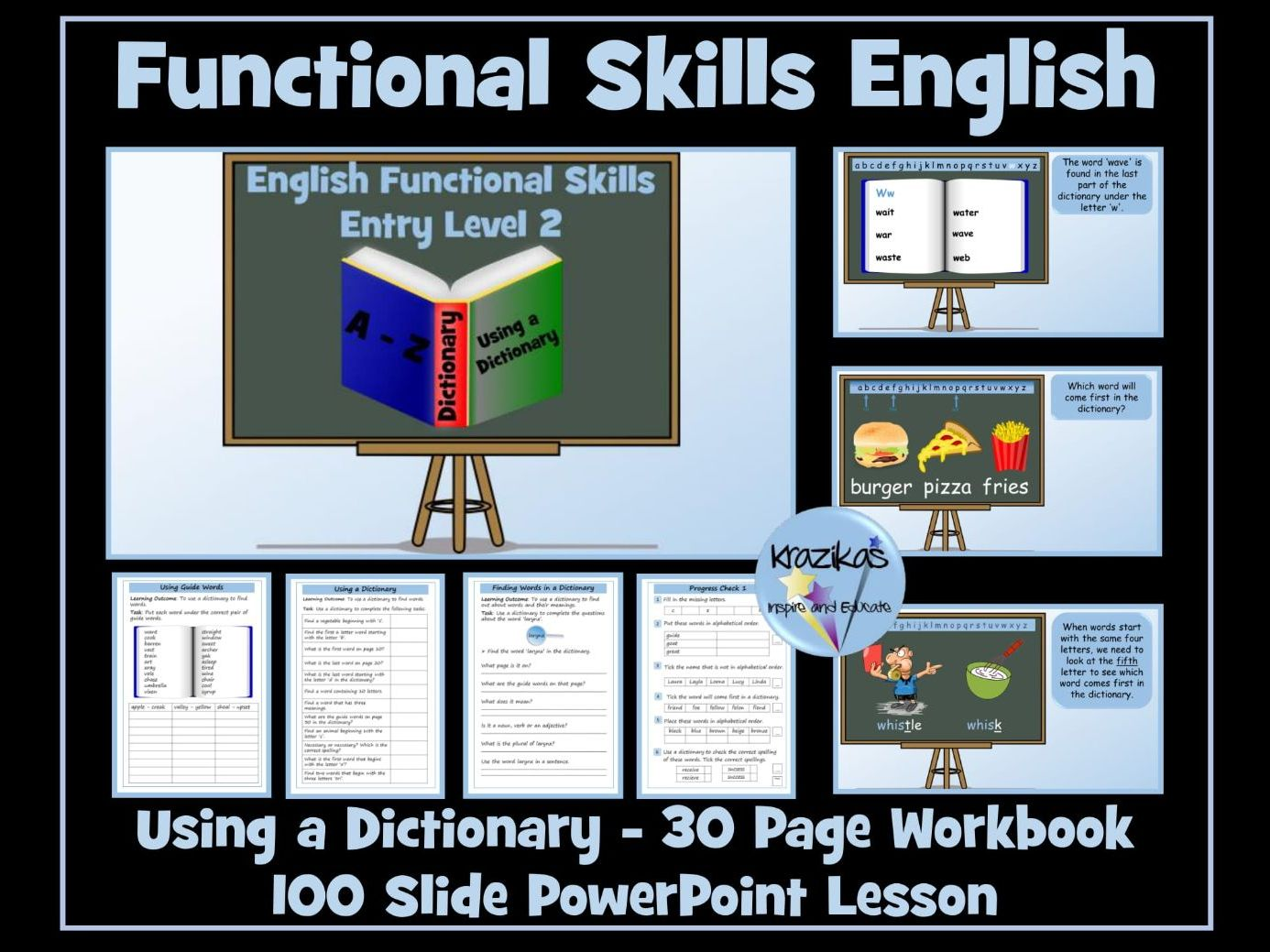 Entry Level 2 English - Using a Dictionary
