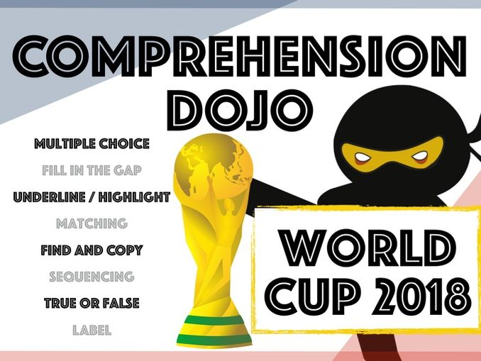Comprehension Dojo - World Cup 2018