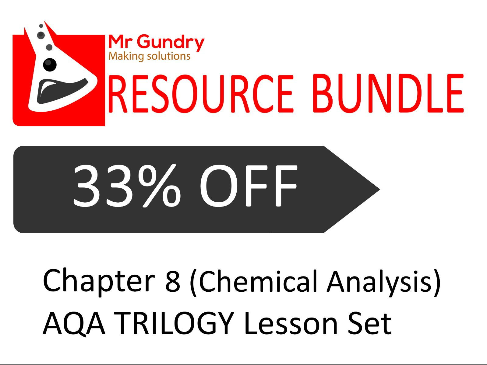 AQA (Chemical Analysis) TRILOGY Lesson Set