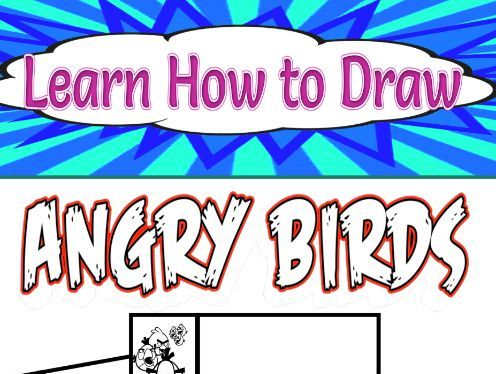 Learn How to Draw Angry Birds