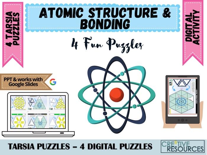 Atomic Structure + Bonding Puzzles