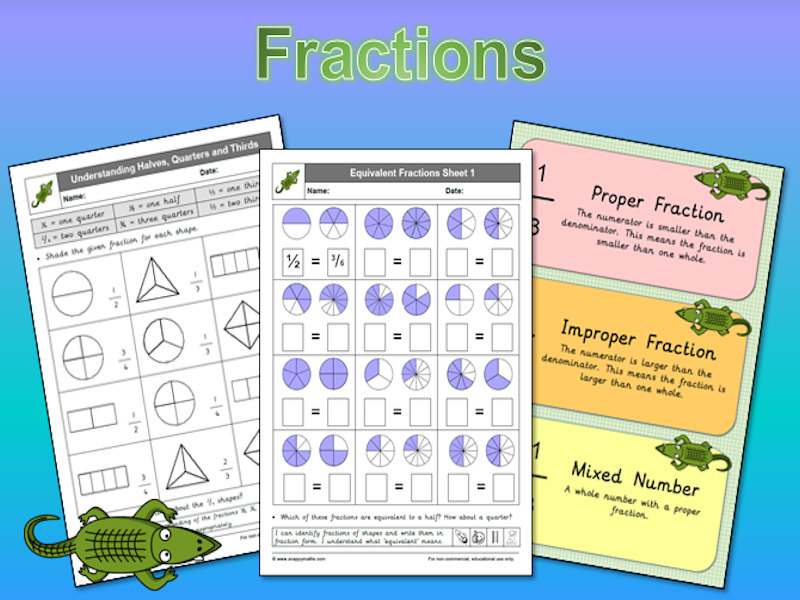 The BIG Book of Fractions