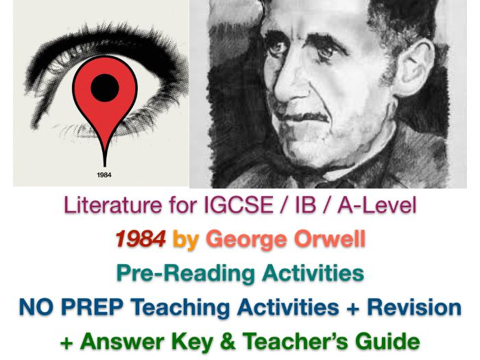 1984 (George Orwell) - Pre-Reading Activities (Critical Thinking & Discussion)