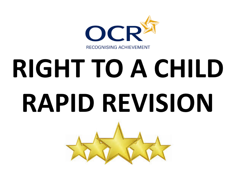 Right to a Child (Applied Ethics) Revision Sheet