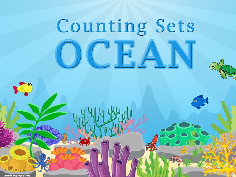 Counting Sets Ocean Theme