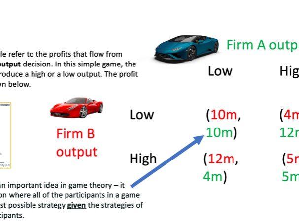 Game Theory / oligopoly 3.4.4