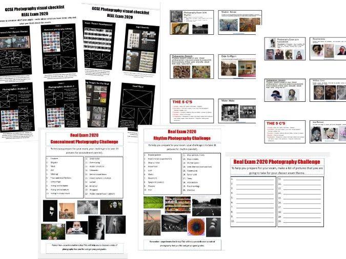 GCSE AQA Photography resources 2020