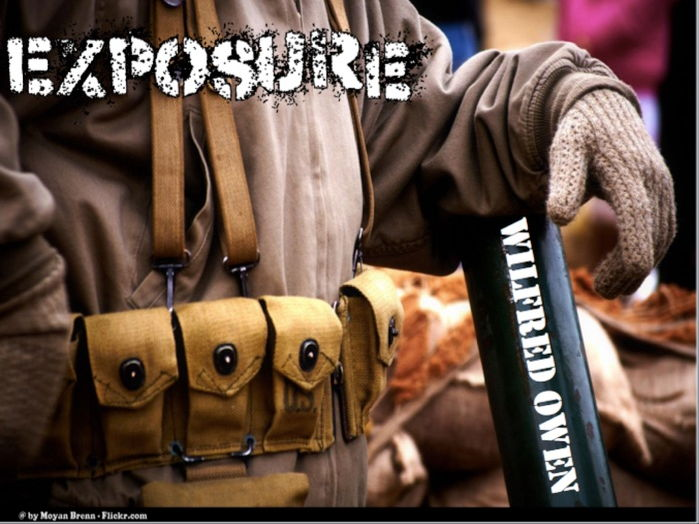 Exposure- Power & Conflict- AQA Literature Poetry New Spec 2017