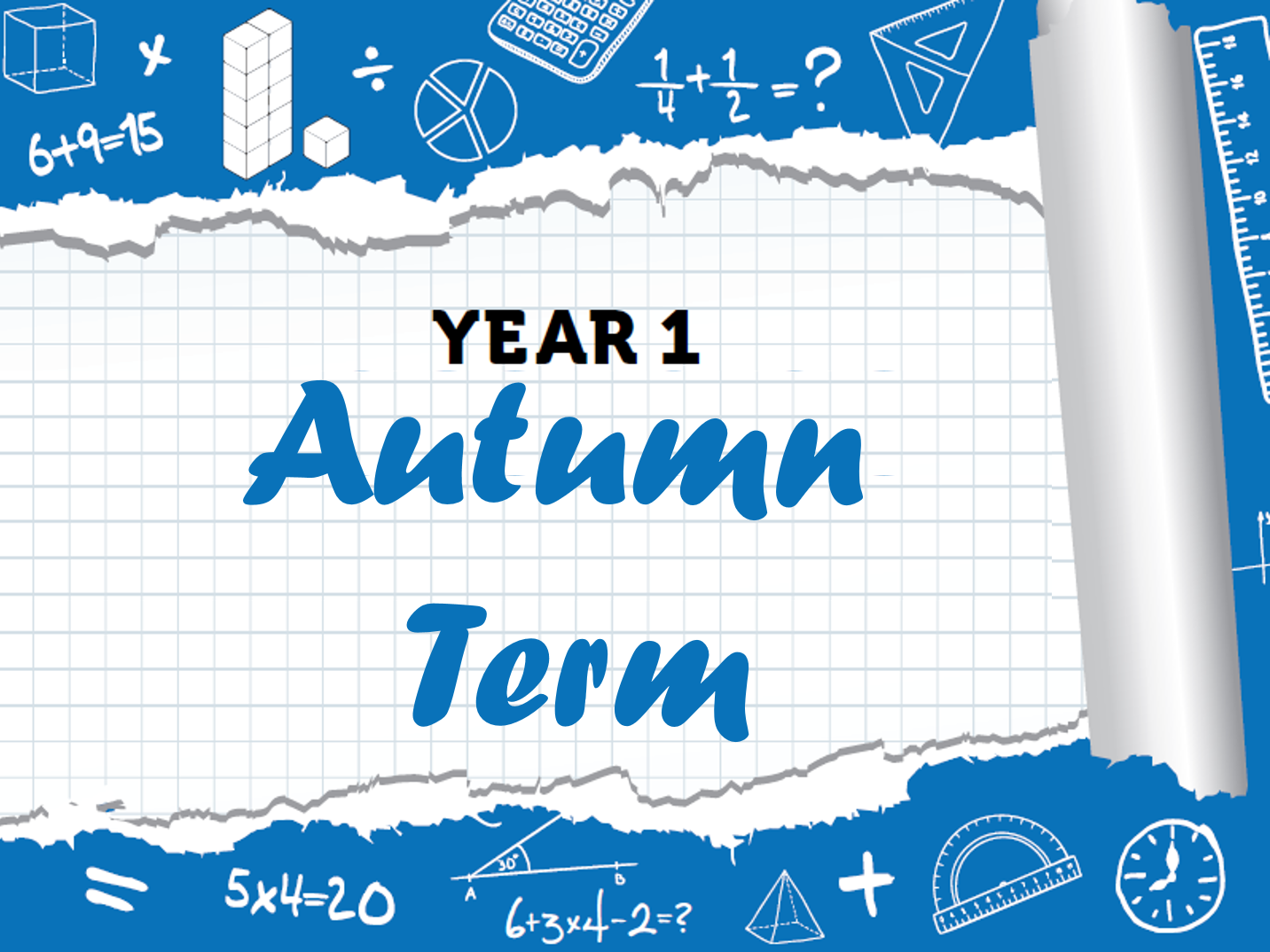 Year 1 - Full Autumn Term