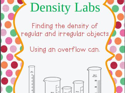 Determining Density Labs