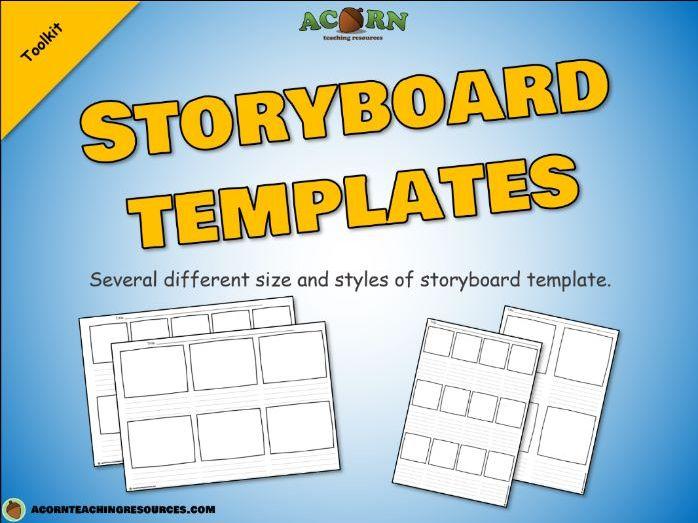 Storyboard templates