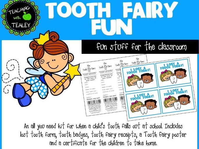 Tooth Fairy Fun