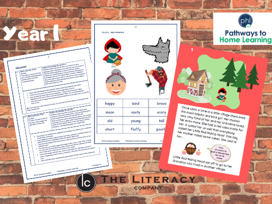 English Home Learning - Year 1