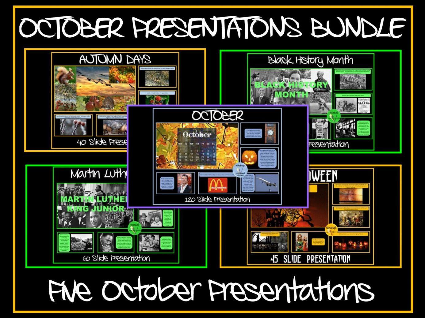 Five October Assemblies
