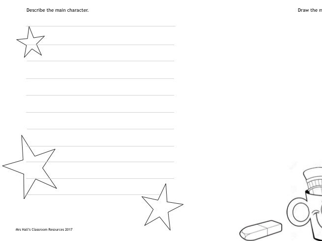 ECE writing activity