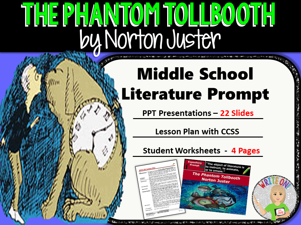 The Phantom Tollbooth by Norton Juster - Text Dependent Analysis Expository Writing