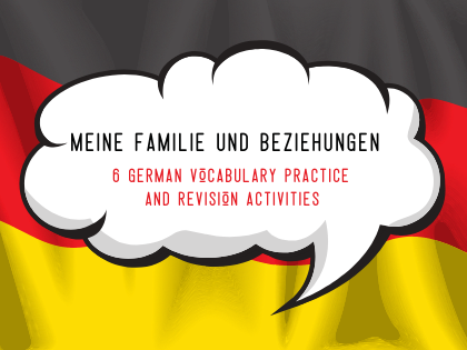 Family & Relationships Vocabulary Practice
