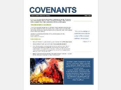 WJEC Eduqas Judaism: Covenants Exam Booklets