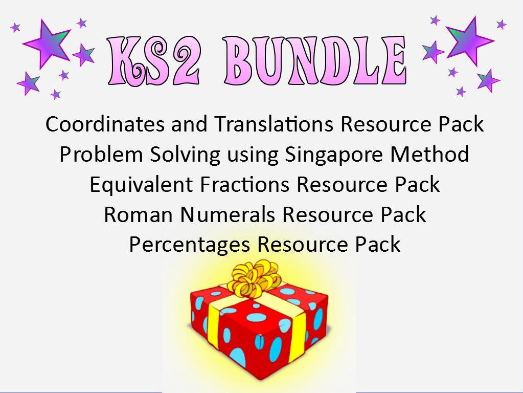 KS2 Maths Resource Bundle
