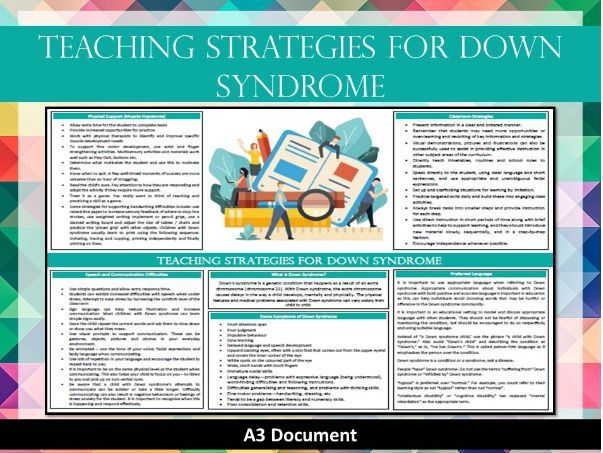 Teaching Strategies for Down Syndrome