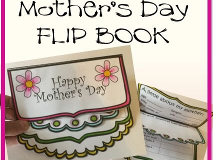 Mother's Day Crafts - Flip Book
