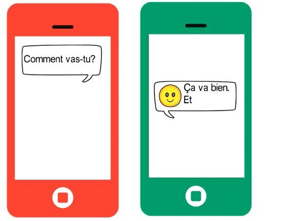 French Video: Saying how you feel and emojis