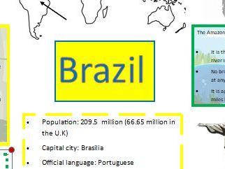 Brazil knowledge organiser