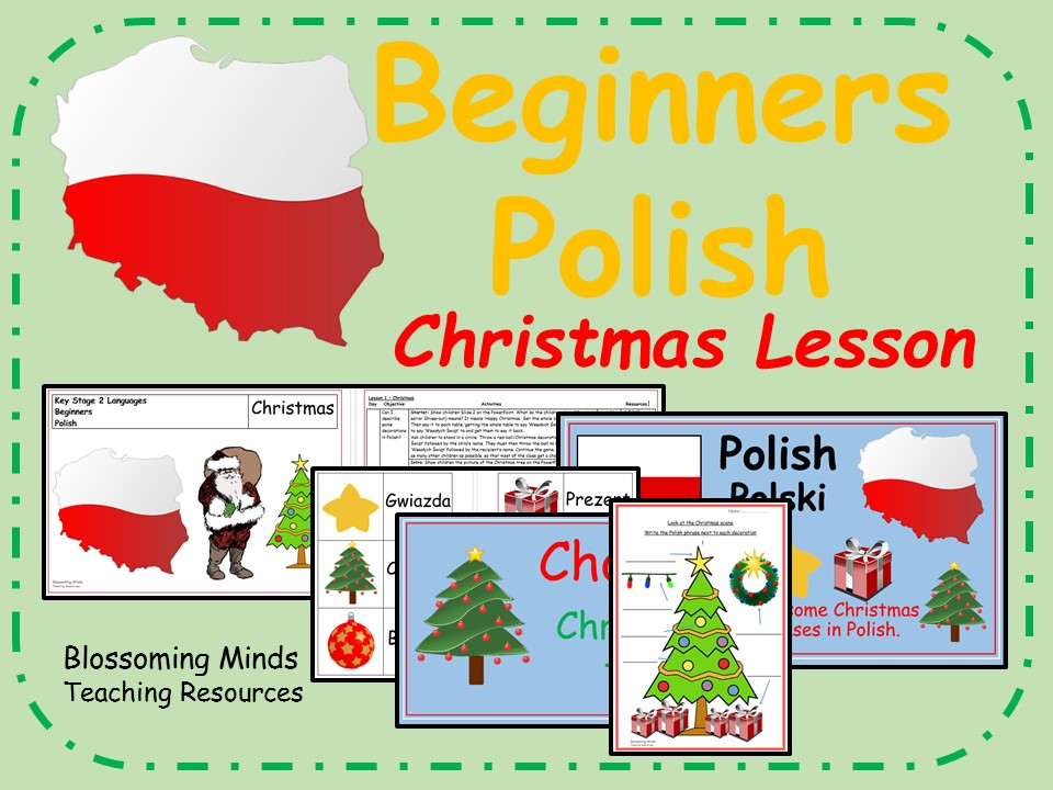 Polish lesson and resources - KS2 - Christmas
