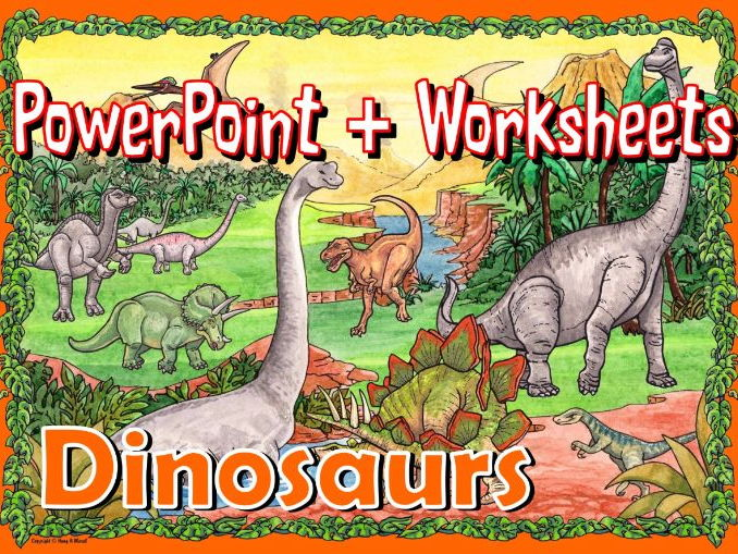 Dinosaurs KS1 – Worksheets and PowerPoint