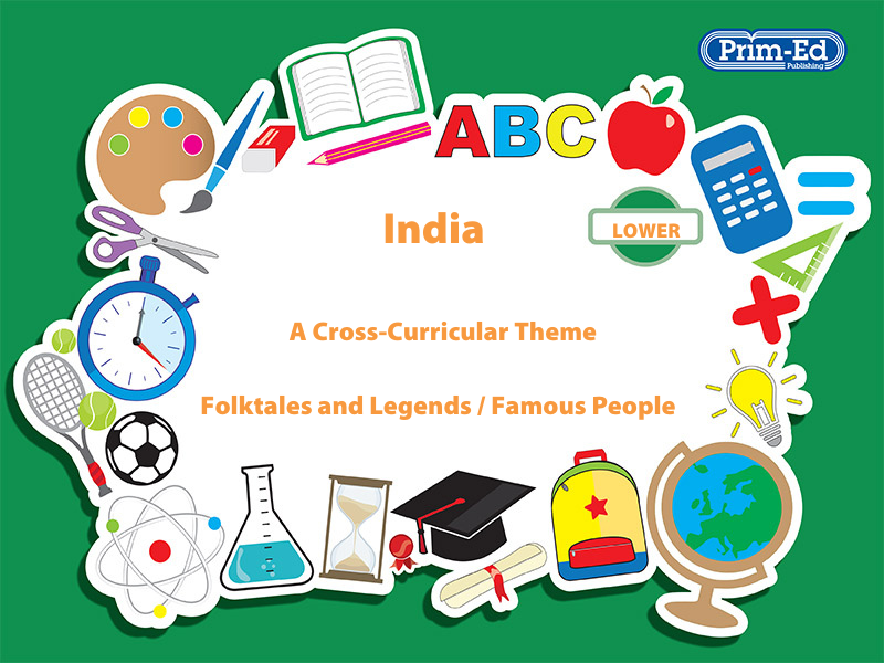 INDIA - FOLKTALES AND LEGENDS/FAMOUS PEOPLE: LOWER UNIT