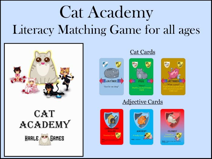 Cat Academy - Card game for all ages
