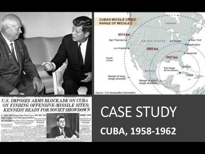 THE CUBAN MISSILE CRISIS FOR YEAR 9