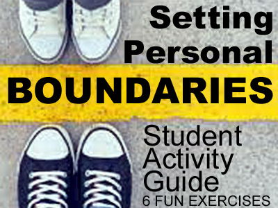 Oral Communication: Setting Personal Boundaries > Printable No Prep Handouts + Activities