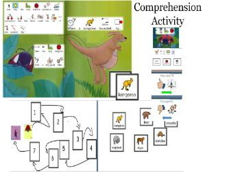 ''The very lazy ladybird'' in widgit software and activities for SEN learners